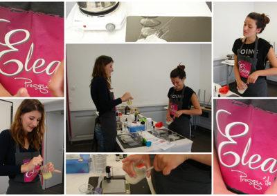 les ateliers d'ELEA Création de produits cosmétiques