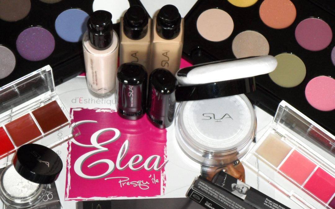 Cours de maquillage à l'école d'esthétique ELEA