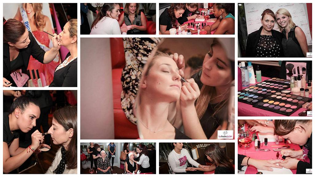 Boudoirs So Girly maquillage - ELEA Presqu'île