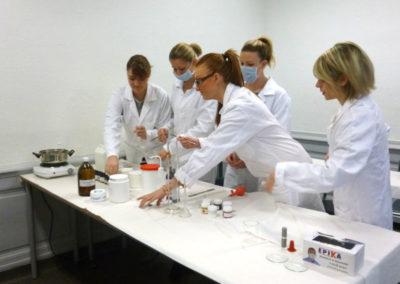 Physique chimie cosmétiques composants - ELEA Presqu'île