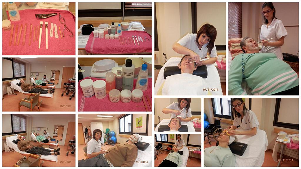 Intervention d'ELEA aux étudiantes de l'EM Lyon pour des manucuries et maquillages - ELEA Presqu'île
