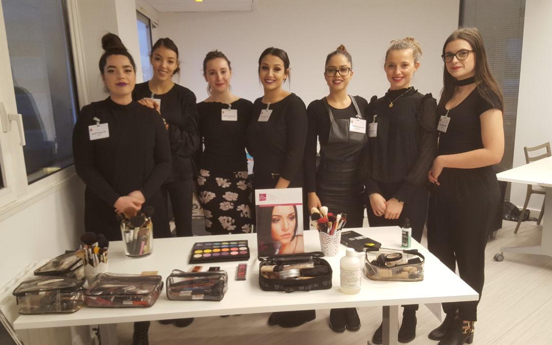 BTS et BAC pro esthétique-cosmétique-parfumerie à la Clinique de la Sauvegarde